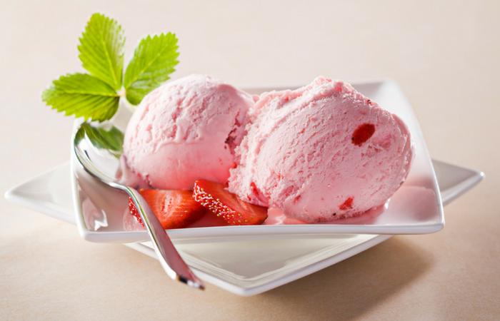 Il gelato come merenda dietetica